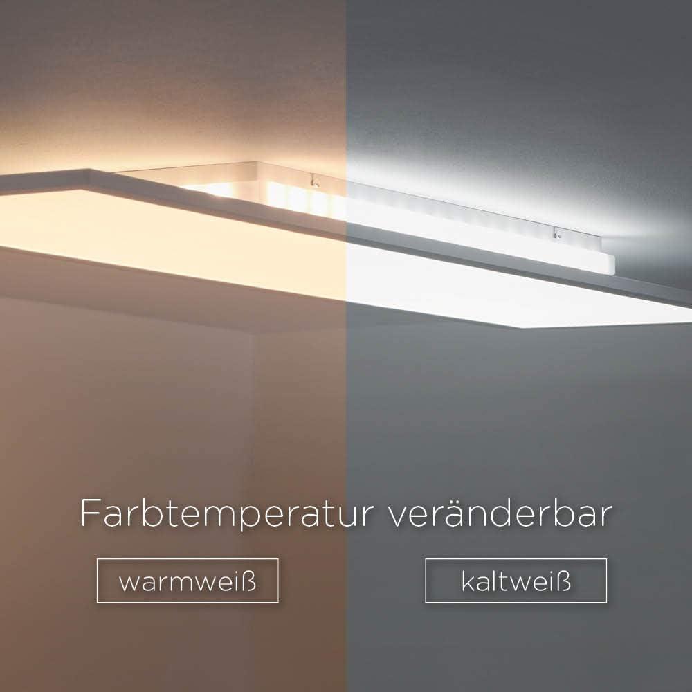 Panel LED techo luz Cambio de temperatura Blanco Cálido – Fría