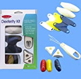 Arthritis Dexterity Kit - Set of 11 Aids for Daily Living