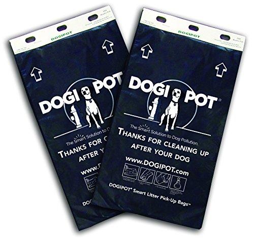 DOGIPOT 1402HP-CASE Header Pak Litter Pick up Bags, 100 Bags per Card (2000 Bags per Case) by Dogipot