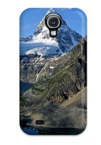 Perfect Fit WGXkPAR6938ERaxO Nice Iced Mountains Case For Galaxy - S4