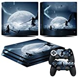 EBTY-Dreams Inc. – Sony Playstation 4 Pro (PS4 Pro) – Final Fantasy VII (FFVII) Cloud & Sephiroth Vinyl Skin Sticker Decal For Sale