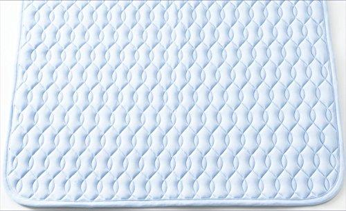 和田哲(Wadatestu) ベットパッド敷きパッド ブルー シングル DI0501S-BL B00R0KSNS4