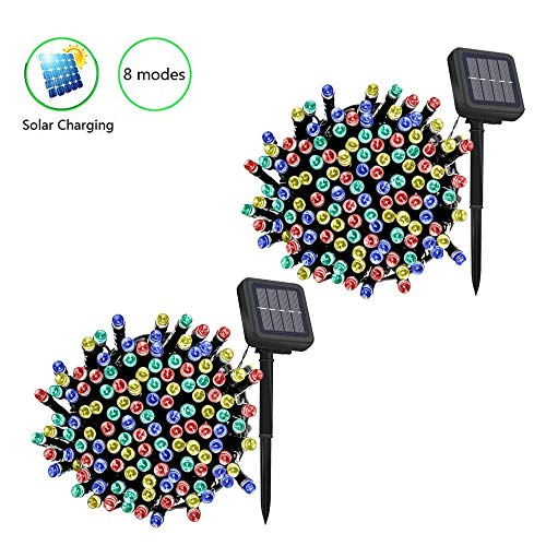 Solar Powered Garden Light String