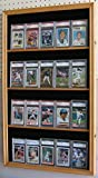 Display Case Wall Cabinet for Football Baseball