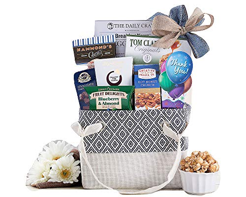 Special Thank You Appreciation Gift Basket Filled With Godiva Lava Cake Truffles By Wine Country Gift Baskets