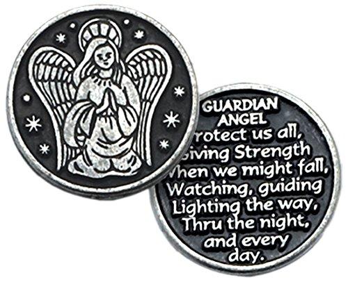 Cathedral Art PT105 Guardian Angel Pocket Token, 1-Inch