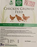 Small Pet Select - Grower Chicken Feed with Pumpkin Seeds (Corn-Free/Soy-Free/Non-GMO), Green, 25 lb
