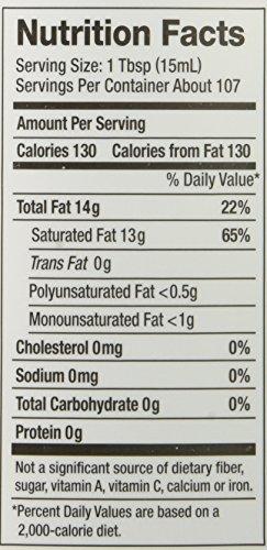 Nutiva Certified Organic Virgin Coconut Oil, 54 fl oz (1)