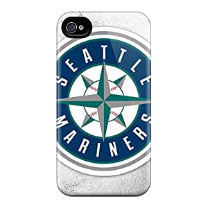 Defender Cases For Iphone 6plus, Seattle Mariners Pattern by runtopwell