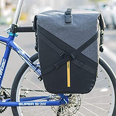 Bolsa de Bicicleta Impermeable Alforja de Bicicleta Sillín ...
