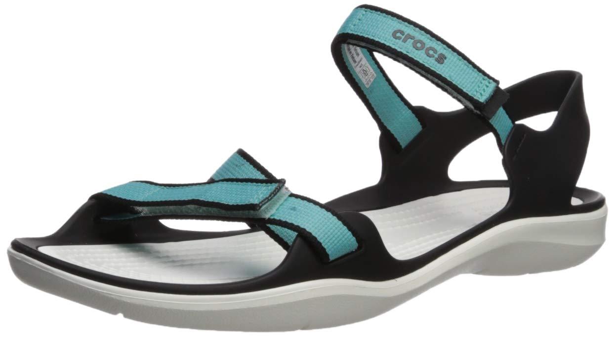 4724ca4a0d54 Galleon - Crocs Women s Swiftwater Webbing Sandal W Sport