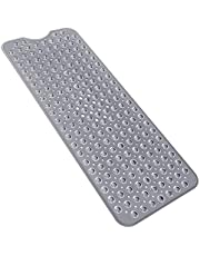 Yolife bardzo długa mata łazienkowa z silnymi przyssawkami antypoślizgowa mata łazienkowa i mata prysznicowa do łazienki można prać w pralce 40 * 100 cm