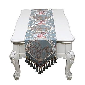 CU@EY Komfort Einfache Art Und Weise Hauptdekor Couchtisch Stoff Tischdecke  Tischläufer , 2 ,