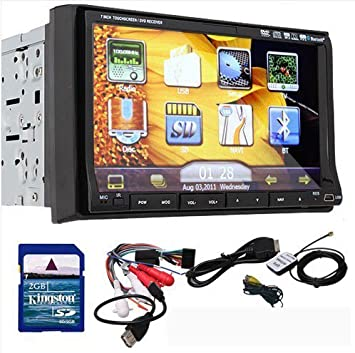 Amazon.com: Ouku 7-Inch Double-DIN In Dash Touchscreen LCD ... on