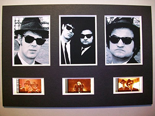 BLUES BROTHERS Framed Trio 3 Film Cell Display Movie Memorabilia Collectible Complements Poster Book Theater