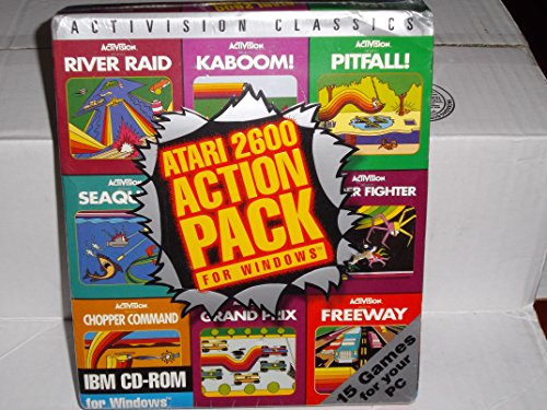 Price comparison product image ACTIVISION'S ATARI 2600 ACTION PACK