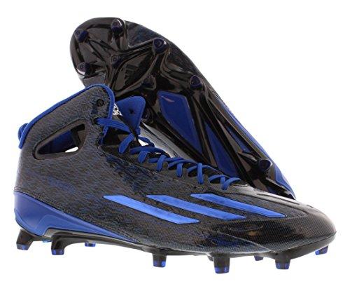 Cleats adidas Royal Mid 0 5 star Black adizero Mens Football 4 Blue gwgq87O