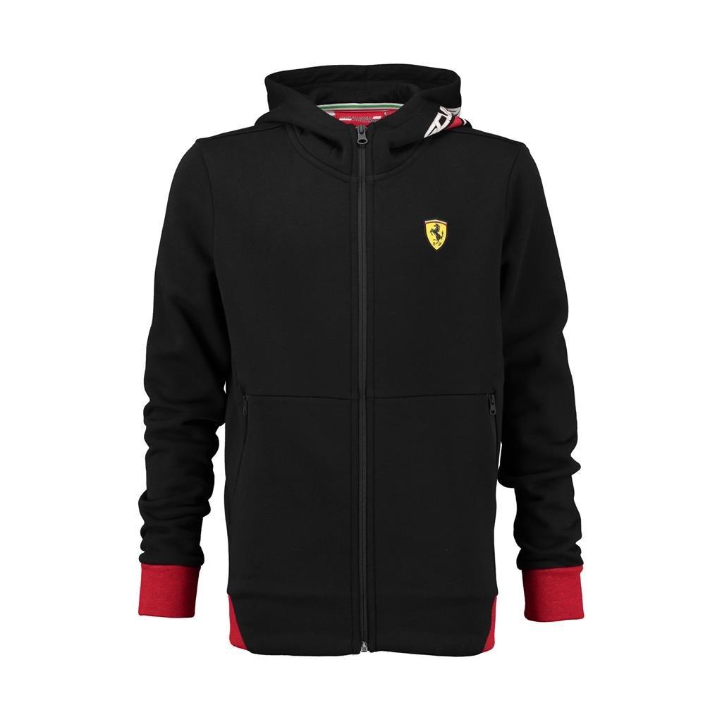 Scuderia Ferrari Formula 1 Kids Zip Up Black Hoodie