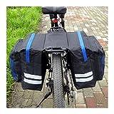 FidgetFidget Rack Multi-functional Waterproof Cycling Bike MTB Bicycle Rear Pannier Seat Bag