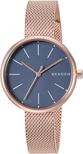 - Skagen  Women's  SKW2593 Rose Gold Mesh Watch
