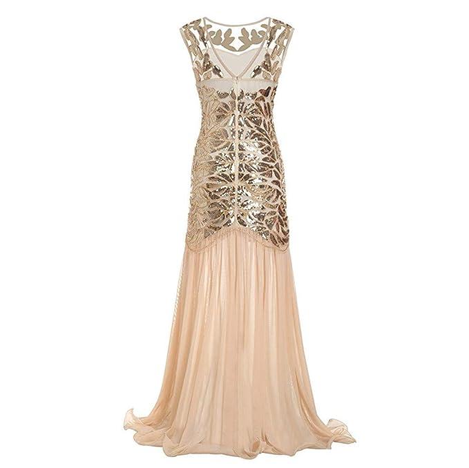 Luoluoluo Vestiti Donna Elegante Cerimonia dc20afc4570
