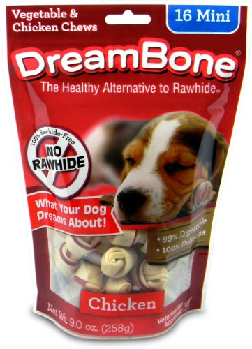 DreamBone Chicken Dog Chew, Mini, 16-Pack, My Pet Supplies
