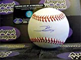 George Springer autographed baseball (Houston Astros) MLB Authentication Hologram AW Certificate with free display cube
