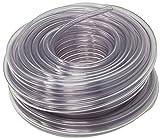 Rollerflex Food Grade Crystal Clear Vinyl Tubing, 1/4-Inch ID x 3/8-Inch OD (100 Ft)