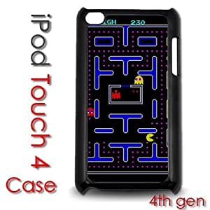 For HTC One M9 Case Cover gen Touch Plastic Case - Pac Man Video Game Retro Old School 80's