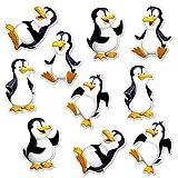 Beistle Mini Penguin Cutouts, 6.25 (30 Pack)