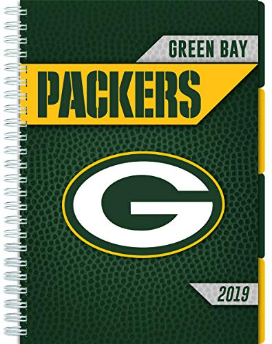 Turner Licensing Green Bay Packers 2019 Tabbed Planner (19998420219) - Green Bay Packers Schedule