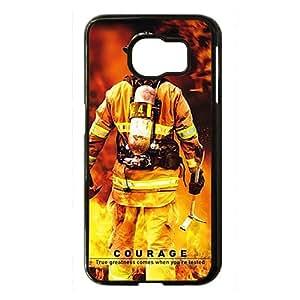 Firefighter's Prayer Black Phone Case for Samsung S6