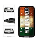 italian flag phone case galaxy s5 - BleuReign(TM) Personalized Custom Name License Italy Plate TPU RUBBER SILICONE Phone Case Back Cover For Samsung Galaxy S5