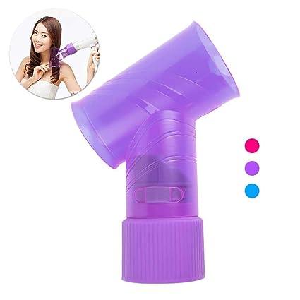 Difusor para secador de pelo para mujer, portátil, difusor de rizos y secador de