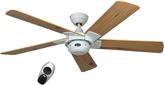Ventilador de techo 1-techo Rotary color (estructura): blanco ...