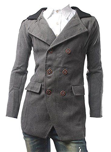 Double Breasted Crop Jacket - 8
