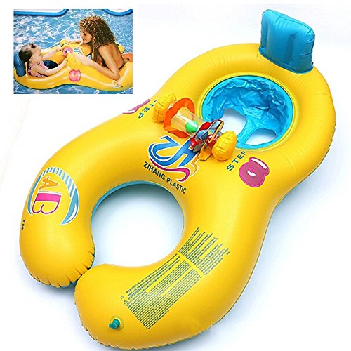 Swimming Ring Pool Float Toy Child & Adult Water Sports Party Supplies PVC (Bike Buoy Mug)