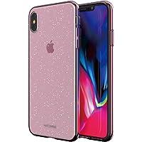 Matchnine iPhone XS Max 壳 软质 JELLO 透明粉色珍珠 硅胶 耐冲击 6.5英寸 苹果手机 套 支持无线充电【日本正规代理店商品】 MN14041i65