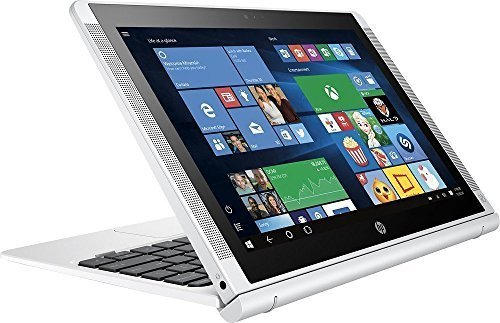 HP Pavilion x2 Detachable 2-in-1 Laptop Tablet,10.1? HD IPS Touchscreen Intel Quad-Core Atom x5-Z8350, 32GB eMMC SSD, 2GB RAM, 802.11ac, Wifi, Bluetooth, Windows 10-Silver (Best Laptop Detachable Screen)