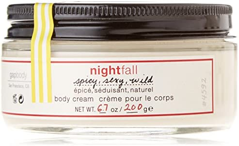 Gap Nightfall Body Body Cream 6.7 Oz 200G New