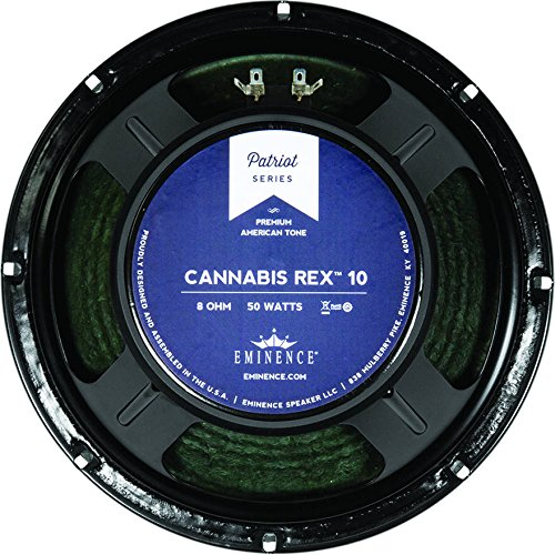 Eminence Patriot Series Cannabis Rex 10'' 8 Ohm Guitar Speaker by Eminence