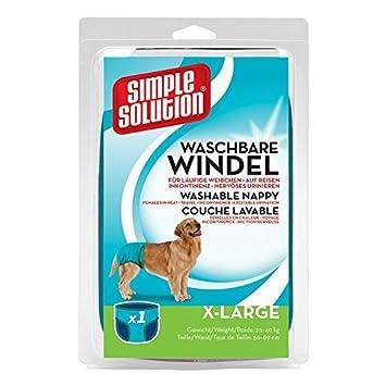 Simple Solution Solución simple perro 09 desechables Pañales