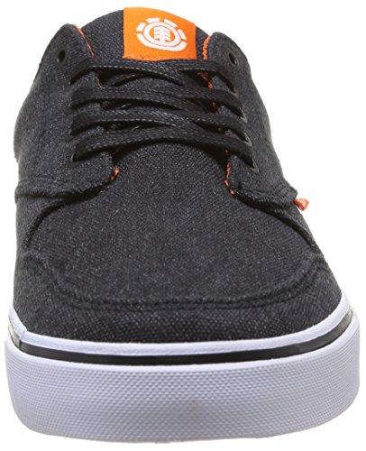 Element TOPAZ C3 - zapatilla deportiva de lona hombre Noir/Orange