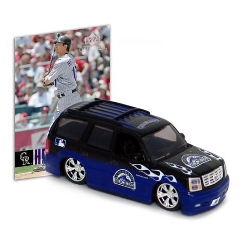 - Colorado Rockies MLB Cadillac Escalade with Todd Helton Trading Card