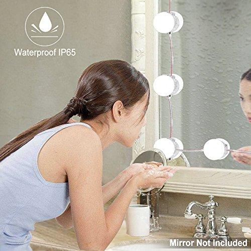 Beauty Star Hollywood-Stil LED Spiegelleuchte Vanity Mirror mit ...