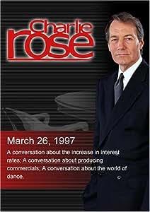 Charlie Rose with Lawrence Summers, John Lipsky & Henry Kaufman; Joe Pytka; Allegra Kent (March 26, 1997)