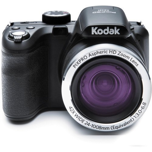 Kodak PIXPRO Astro Zoom AZ421 16 MP Digital Camera with 42X Optical Zoom and 3″ LCD Screen (Black)