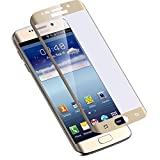 ABIS Premium Tempered Glass Screen Protectors for Samsung Mobile Phone Samsung S6 Edge Gold
