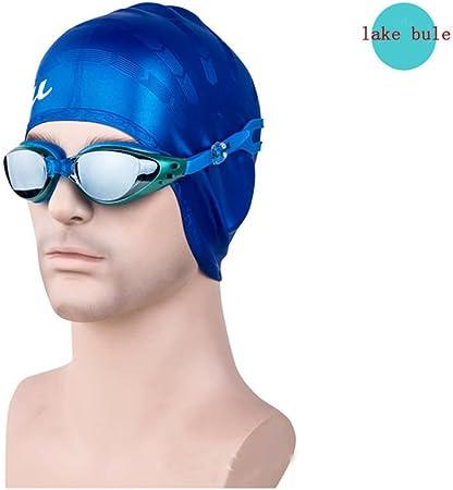 Adult Anti UV Swimming Non Fogging Goggles Adjustable Eye Protect Glasses