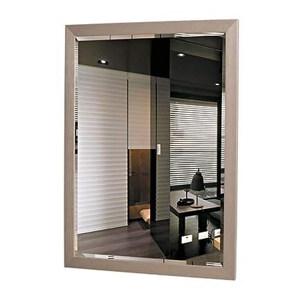 Bathroom Mirror Waterproof Plastic Frame Shower Mirror Wall